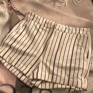 Forever21 Striped Shorts